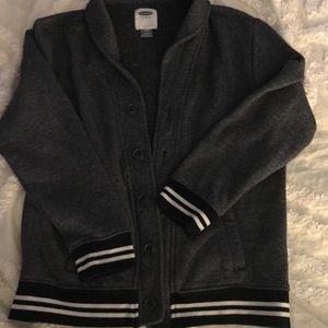 Other - Boys Button Up Fleece Lined Sweatshirt